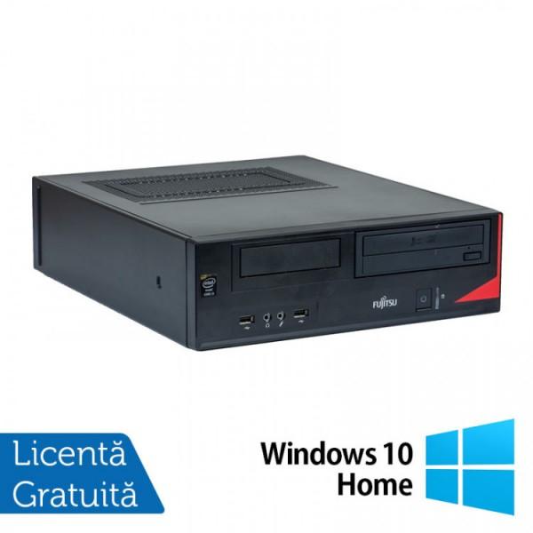 Calculator Fujitsu E520 Desktop, Intel Core i7-4770 3.40GHz, 8GB DDR3, 500GB SATA, DVD-RW + Windows 10 Home - ShopTei.ro