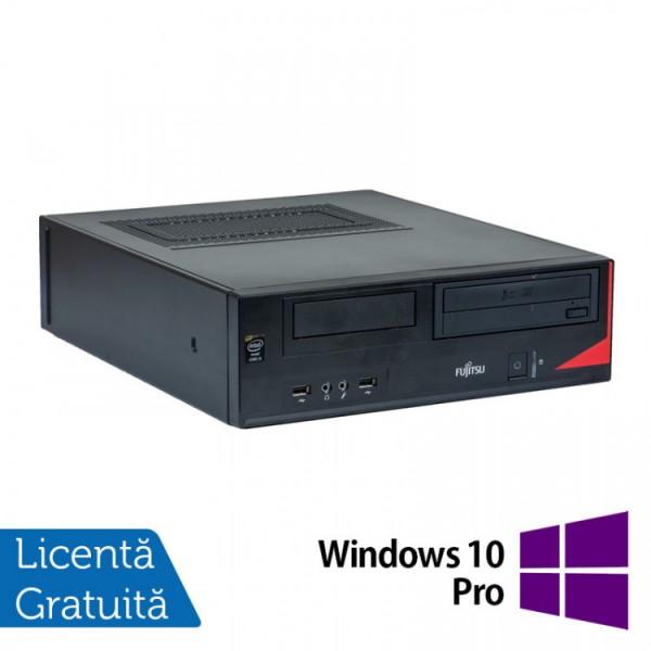 Calculator Fujitsu E520 Desktop, Intel Core i5-4570 3.20GHz, 8GB DDR3, 500GB SATA, DVD-RW + Windows 10 Pro - ShopTei.ro