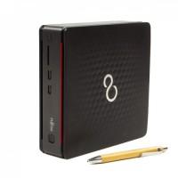 Calculator Fujitsu Esprimo Q520 USFF, Intel Core i3-4160T 3.10GHz, 4GB DDR3, 500GB SATA, DVD-RW