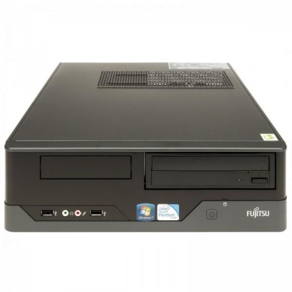 Calculator FUJITSU SIEMENS E400 SFF, Intel Core i3-2130 3.40GHz, 4GB DDR3, 320GB SATA, DVD-ROM - ShopTei.ro