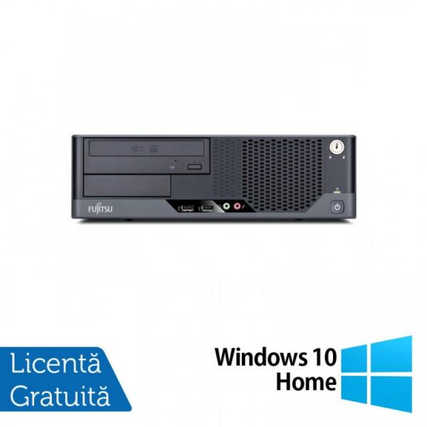 Calculator FUJITSU SIEMENS E9900 SFF, Intel Core i3-540 3.06GHz, 4GB DDR3, 320GB SATA + Windows 10 Home - ShopTei.ro