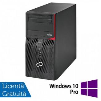 Calculator Fujitsu Siemens P556 Tower, Intel Core i5-6400T 2.20GHz, 8GB DDR4, 500GB SATA, DVD-RW + Windows 10 Pro