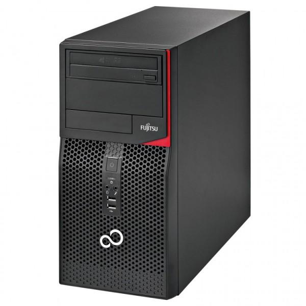 Calculator Fujitsu Siemens P556 Tower, Intel Core i3-6100 3.70GHz, 8GB DDR4, 240GB SSD, DVD-RW - ShopTei.ro