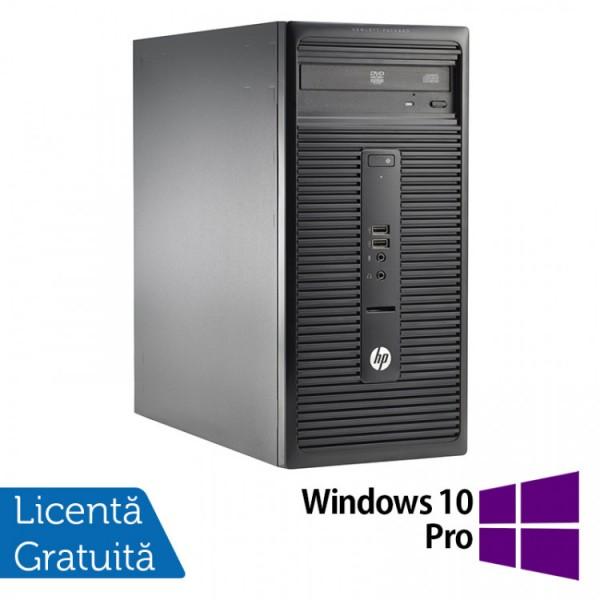 Calculator HP 280 G1 Tower, Intel Core i5-4570S 2.90GHz, 4GB DDR3, 500GB SATA, DVD-RW + Windows 10 Pro - ShopTei.ro