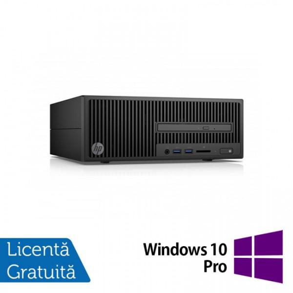 Calculator HP 280 G2 SFF, Intel Core i7-6700T 2.80GHz, 8GB DDR4, 120GB SSD, DVD-RW + Windows 10 Pro - ShopTei.ro