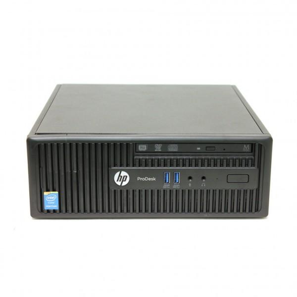 Calculator HP 400 G2.5 SFF, Intel Core i5-4590s 3.00GHz, 4GB DDR3, 500GB SATA, DVD-RW - ShopTei.ro