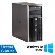 Calculator HP Compaq 6305 Tower, AMD A4-5300B 3.40GHz, 4GB DDR3, 250GB SATA, DVD-ROM + Windows 10 Home