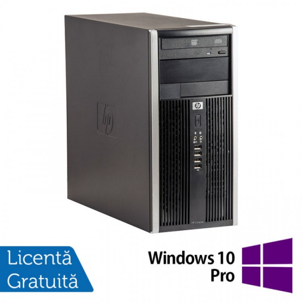 Calculator HP 6300 Tower, Intel Core i5-3470 3.20GHz, 4GB DDR3, 250GB SATA, DVD-RW + Windows 10 Pro - ShopTei.ro