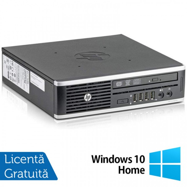 Calculator HP 8300 Elite USDT, Intel Core i3-3220 3.30GHz, 4GB DDR3, 160GB SATA, DVD-ROM + Windows 10 Home - ShopTei.ro