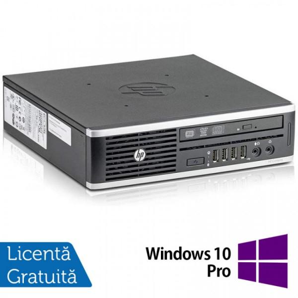 Calculator HP 8300 Elite USDT, Intel Core i3-3220 3.30GHz, 8GB DDR3, 120GB SSD, DVD-ROM + Windows 10 Pro - ShopTei.ro