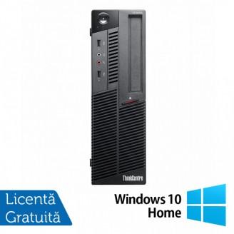 Calculator LENOVO M90 SFF, Intel Core i3-530 2.93GHz, 4GB DDR3, 320GB SATA, DVD-RW + Windows 10 Home