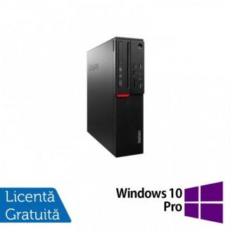 Calculator LENOVO M700 SFF, Intel Core i3-6100 3.70GHz, 8GB DDR4, 240GB SSD + Windows 10 Pro