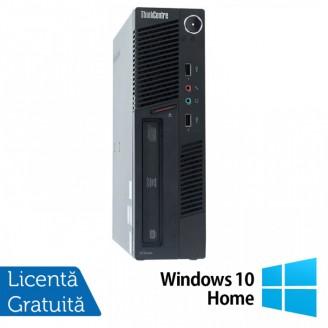Calculator Lenovo ThinkCentre M90 USDT, Intel Core i3-550 3.20GHz, 4GB DDR3, 160GB SATA, DVD-ROM + Windows 10 Home