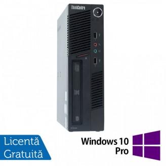 Calculator Lenovo ThinkCentre M90 USDT, Intel Core i3-550 3.20GHz, 4GB DDR3, 500GB SATA, DVD-ROM + Windows 10 Pro