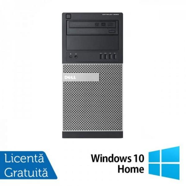 Calculator DELL Optiplex 9020 Tower, Intel Core i7-4770 3.40GHz, 8GB DDR3, 500GB SATA, DVD-ROM + Windows 10 Home - ShopTei.ro