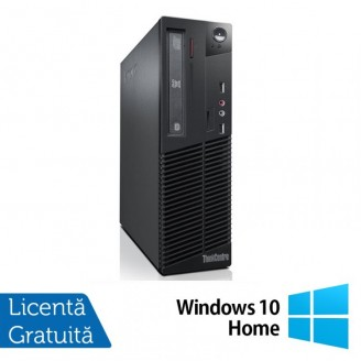 Calculator Lenovo ThinkCentre M82 SFF, IntelCore i5-3470 3.20GHz, 8GB DDR3, 500GB SATA, DVD-RW + Windows 10 Home