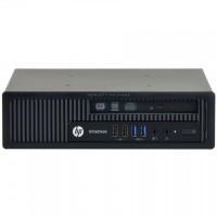 Calculator HP EliteDesk 800 G1 USDT, Intel Core i3-4160 3.60GHz, 4GB DDR3, 500GB SATA, DVD-RW