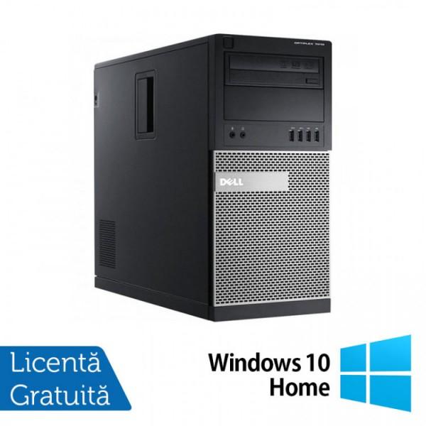 Calculator Dell OptiPlex 7010 Tower, Intel Core i3-3220 3.30GHz, 8GB DDR3, 240GB SSD, DVD-RW + Windows 10 Home - ShopTei.ro