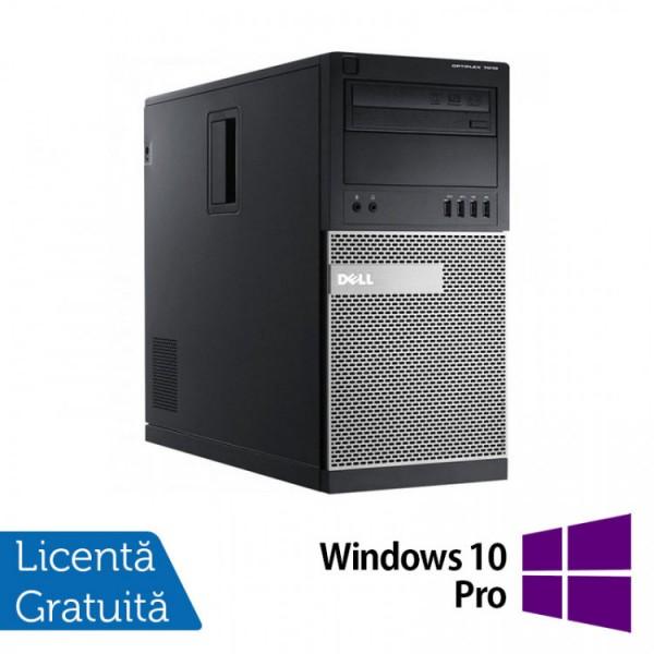 Calculator Dell OptiPlex 7010 Tower, Intel Core i3-3220 3.30GHz, 8GB DDR3, 500GB SATA, DVD-RW  + Windows 10 Pro - ShopTei.ro