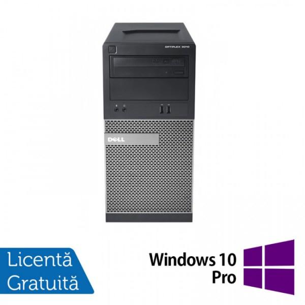 Calculator Dell OptiPlex 3010 Tower, Intel Core i5-3470 3.20GHz, 4GB DDR3, 500GB SATA, DVD-ROM + Windows 10 Pro - ShopTei.ro