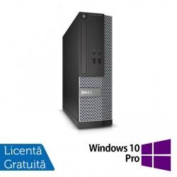 Calculator DELL 3020 SFF, Intel Core i3-4130 3.40 GHz, 8GB DDR3, 500GB SATA + Windows 10 Pro - ShopTei.ro