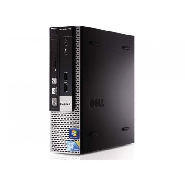 Calculator Dell Optiplex 780 USFF, Intel Core 2 Duo E7500 2.93GHz, 4GB DDR3, 250GB SATA, DVD-ROM - ShopTei.ro
