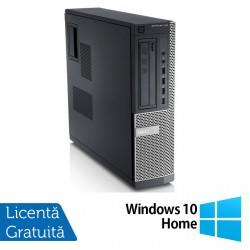 Calculator DELL 790 Desktop, Intel Core i3-2100 3.10 GHz, 4GB DDR3, 250GB SATA, DVD-ROM + Windows 10 Home - ShopTei.ro
