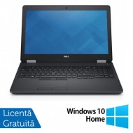 Laptop Dell Precision 3510, Intel Core i7-6700HQ 2.60GHz, 16GB DDR4, 240GB SSD, Full HD, Webcam, 15.6 Inch + Windows 10 Home