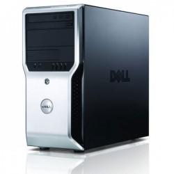 Workstation Dell Precision T1500, Intel Dual Core i3-540 3.06GHz, 8GB DDR3, 500GB HDD, nVidia GT605/1GB, DVD-ROM - ShopTei.ro