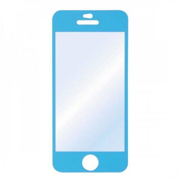 Folie Protectie HAMA iPhone 5C, Albastru - ShopTei.ro