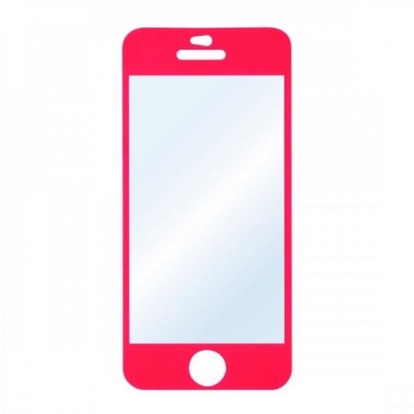 Folie Protectie HAMA iPhone 5C, Coral - ShopTei.ro