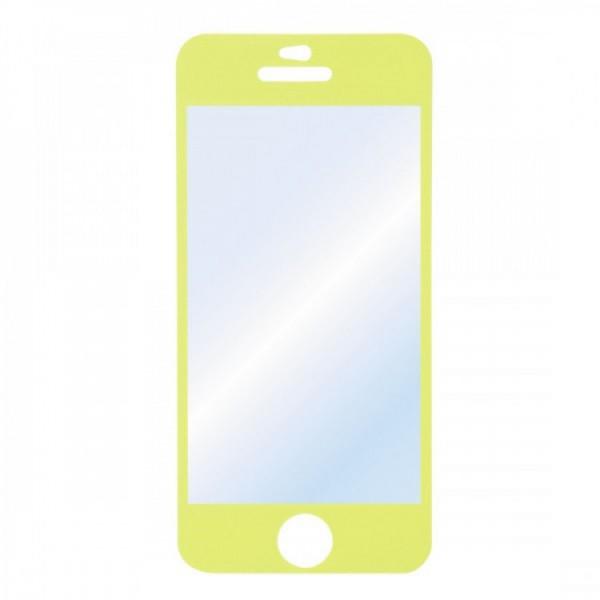 Folie Protectie HAMA iPhone 5C, Galben - ShopTei.ro
