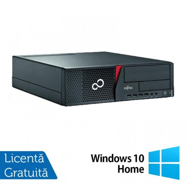 Calculator Fujitsu Siemens E700 Desktop, Intel Pentium G620 2.60GHz, 4GB DDR3, 250GB SATA, DVD-RW + Windows 10 Home - ShopTei.ro