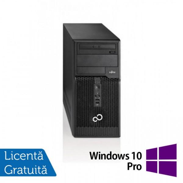 Calculator Fujitsu Siemens Esprimo P510 Tower, Intel Pentium G2020 2.90GHz, 4GB DDR3, 500GB SATA, DVD-RW + Windows 10 Pro - ShopTei.ro