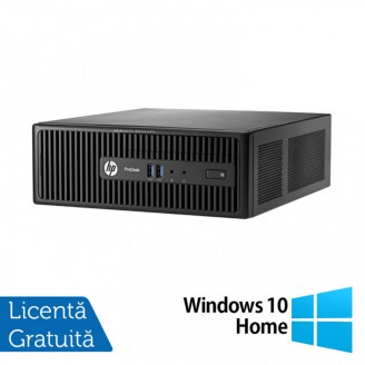 Calculator HP 400 G3 SFF, Intel Core i7-6700 3.40GHz, 8GB DDR4, 500GB SATA, DVD-RW + Windows 10 Home