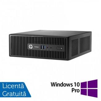 Calculator HP 400 G3 SFF, Intel Core i5-6400T 2.20GHz, 8GB DDR4, 240GB SSD, DVD-RW + Windows 10 Pro
