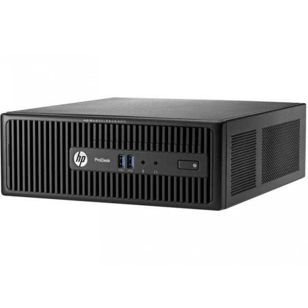 Calculator HP 400 G3 SFF, Intel Celeron G3900 2.80GHz, 4GB DDR4, 500GB SATA, DVD-RW - ShopTei.ro