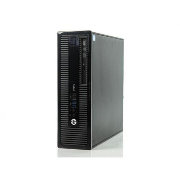 Calculator HP 400 G1 SFF, Intel Core i3-4130 3.40GHz, 4GB DDR3, 500GB SATA, DVD-RW - ShopTei.ro