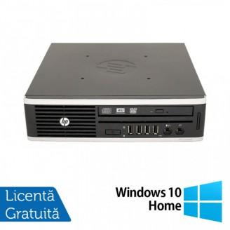 Calculator HP 8200 Elite USDT, Intel Core i5-2400S 2.50GHz, 4GB DDR3, 500GB SATA, DVD-RW + Windows 10 Home