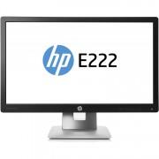 Monitor HP EliteDisplay E222, 21.5 Inch Full HD IPS LED, VGA, HDMI, Display Port, USB
