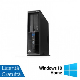 Workstation HP Z230 SFF, Intel Xeon Quad Core E3-1231 v3 3.40GHz-3.80GHz, 16GB DDR3, 1TB SATA, DVD-RW, nVidia Quadro K620/2GB + Windows 10 Home
