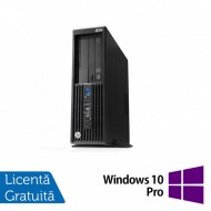 Workstation HP Z230 SFF, Intel Xeon Quad Core E3-1231 v3 3.40GHz-3.80GHz, 16GB DDR3, 1TB SATA, DVD-RW, nVidia Quadro K620/2GB + Windows 10 Pro