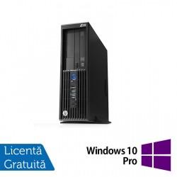 Workstation HP Z230 SFF, Intel Xeon Quad Core E3-1231 v3 3.40GHz-3.80GHz, 16GB DDR3, 1TB SATA, DVD-RW, nVidia Quadro K620/2GB + Windows 10 Pro - ShopTei.ro