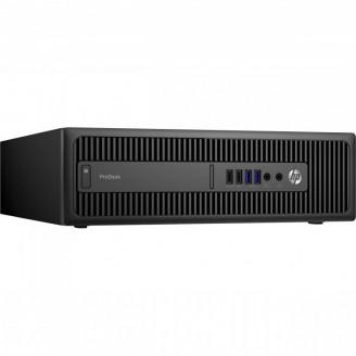 Calculator HP Prodesk 600 G2 SFF, Intel Celeron G3900 2.80GHz, 4GB DDR4, 500GB SATA, DVD-RW