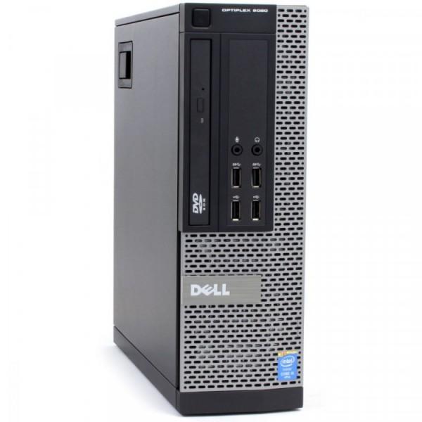 Calculator DELL OptiPlex 9020 SFF, Intel Core i3-4150 3.50GHz, 4GB DDR3, 500GB SATA, DVD-RW - ShopTei.ro