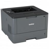 Imprimanta Laser Monocrom Brother HL-L5100DN, Duplex, A4, 40ppm, 1200 x 1200, USB, Retea