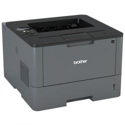 Imprimanta Laser Monocrom Brother HL-L5100DN, Duplex, A4, 40ppm, 1200 x 1200, USB, Retea, Toner si Unitate Drum Noi - ShopTei.ro