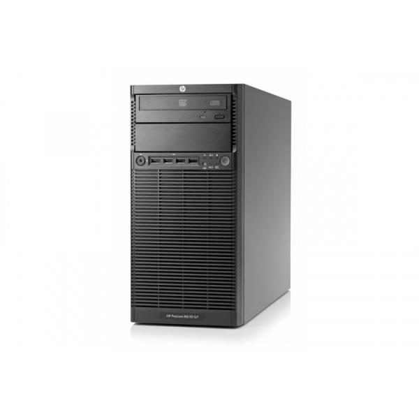 Server HP ProLiant ML110 G7 Tower, Intel Core i3-2120 3.30GHz, 16GB DDR3 ECC, RAID P212/256MB, 2 x HDD 2TB SATA, DVD-ROM, PSU 350W - ShopTei.ro