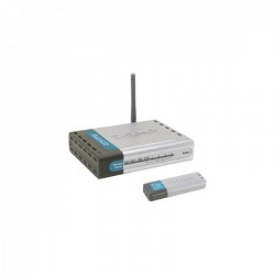 Kit Wireless D-Link DWL-922, Router + Stick - ShopTei.ro