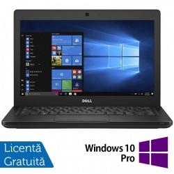 Laptop DELL Latitude 5280, Intel Core i5-7200U 2.50GHz, 8GB DDR4, 120GB SSD M.2, 12.5 Inch, Webcam + Windows 10 Pro - ShopTei.ro